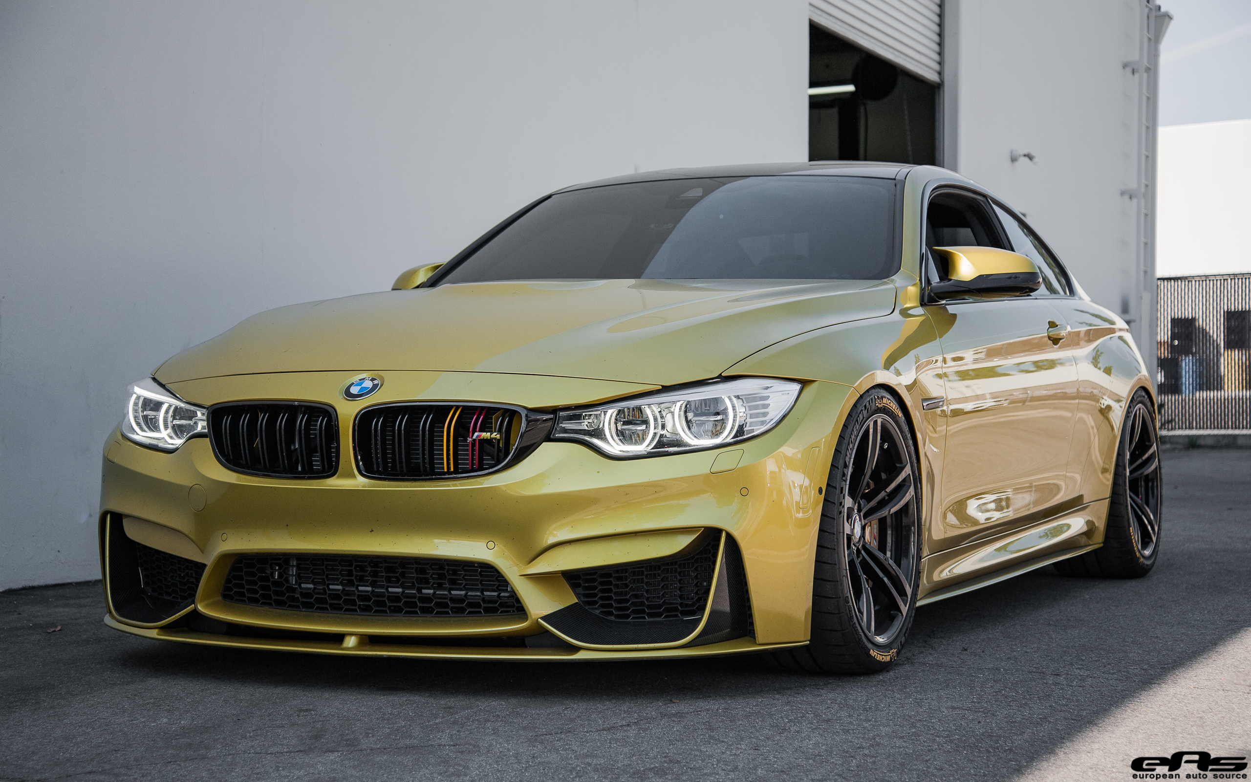 austin yellow bmw m4 build with a clean aftermarket look. Black Bedroom Furniture Sets. Home Design Ideas