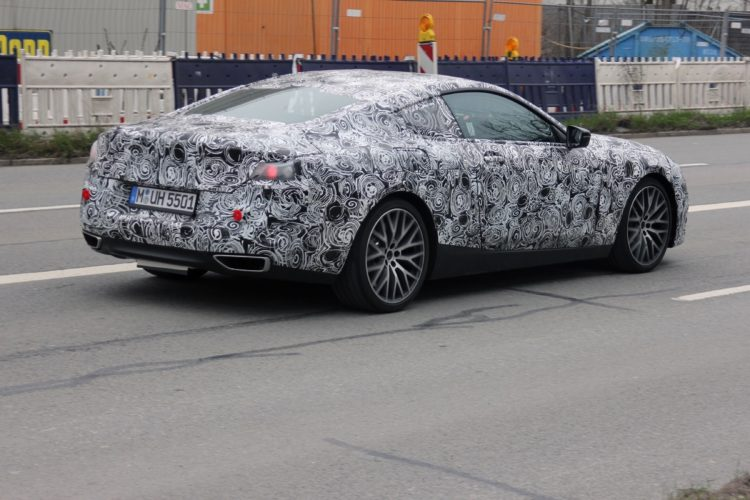 BMW 8 Series Spy Photos6 750x500