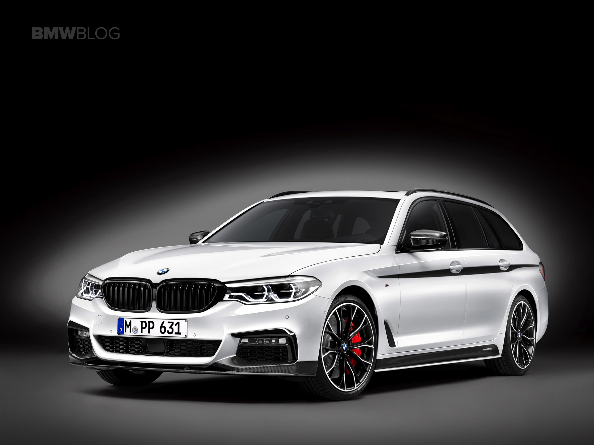 BMW M Performance Parts for the new BMW 5 Series Touring 01