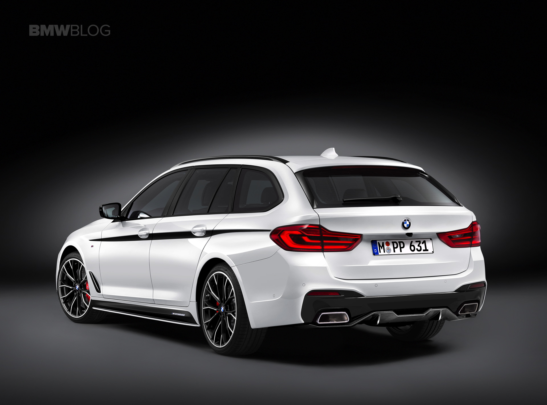 BMW M Performance Parts for the new BMW 5 Series Touring