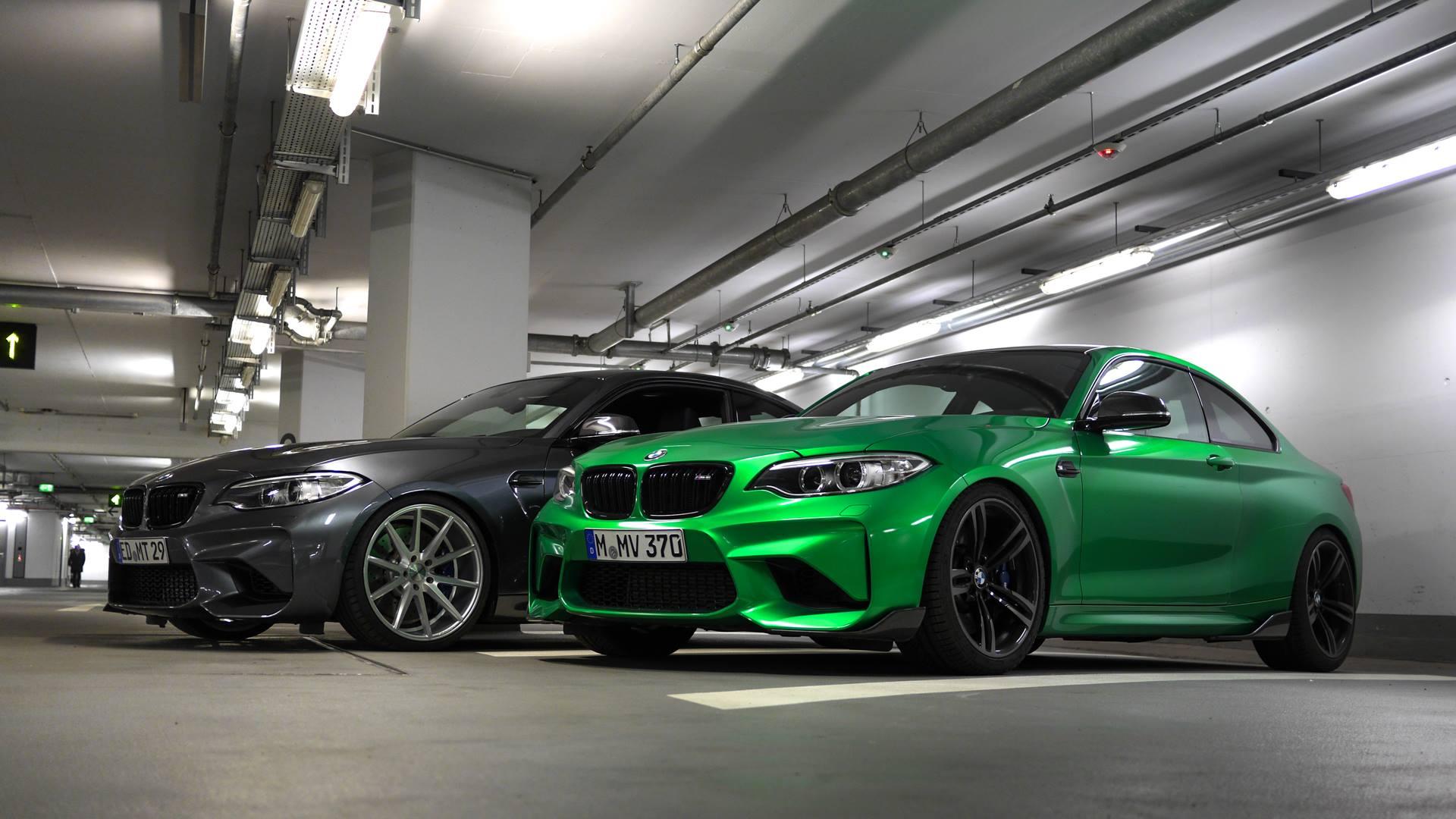 BMW M2 Java Gruen trifft Mineral Grau MT Video 01