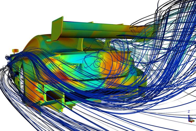 Bmw M4 Dtm A Detailed Look At Computational Fluid Dynamics