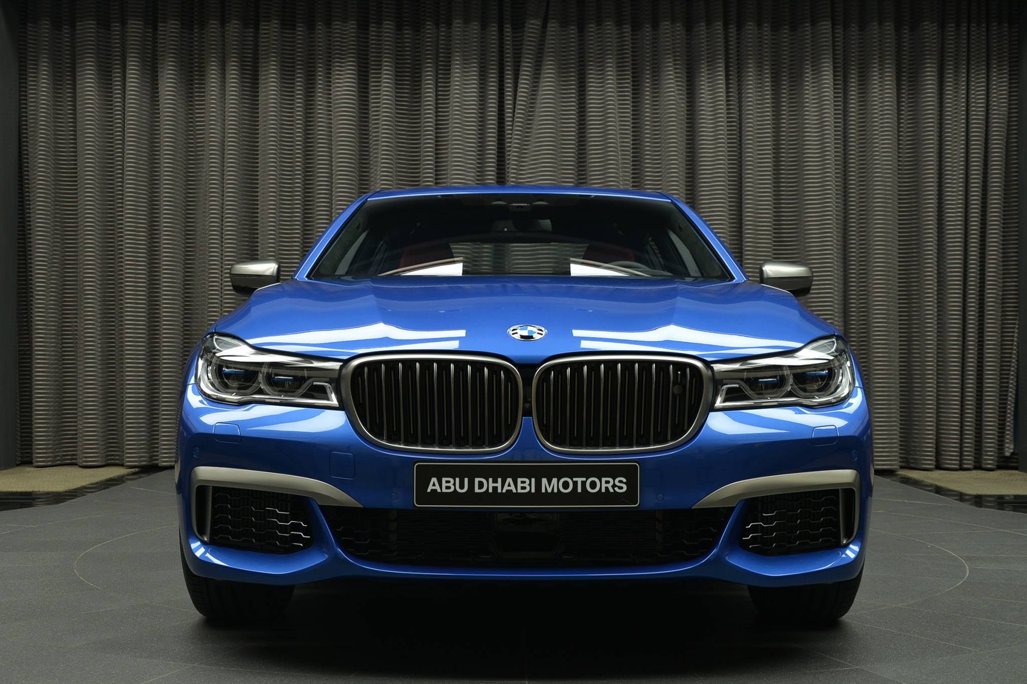 Bmw Performance Driving School >> BMW M760Li xDrive: V12 with Individual paint Estoril blue