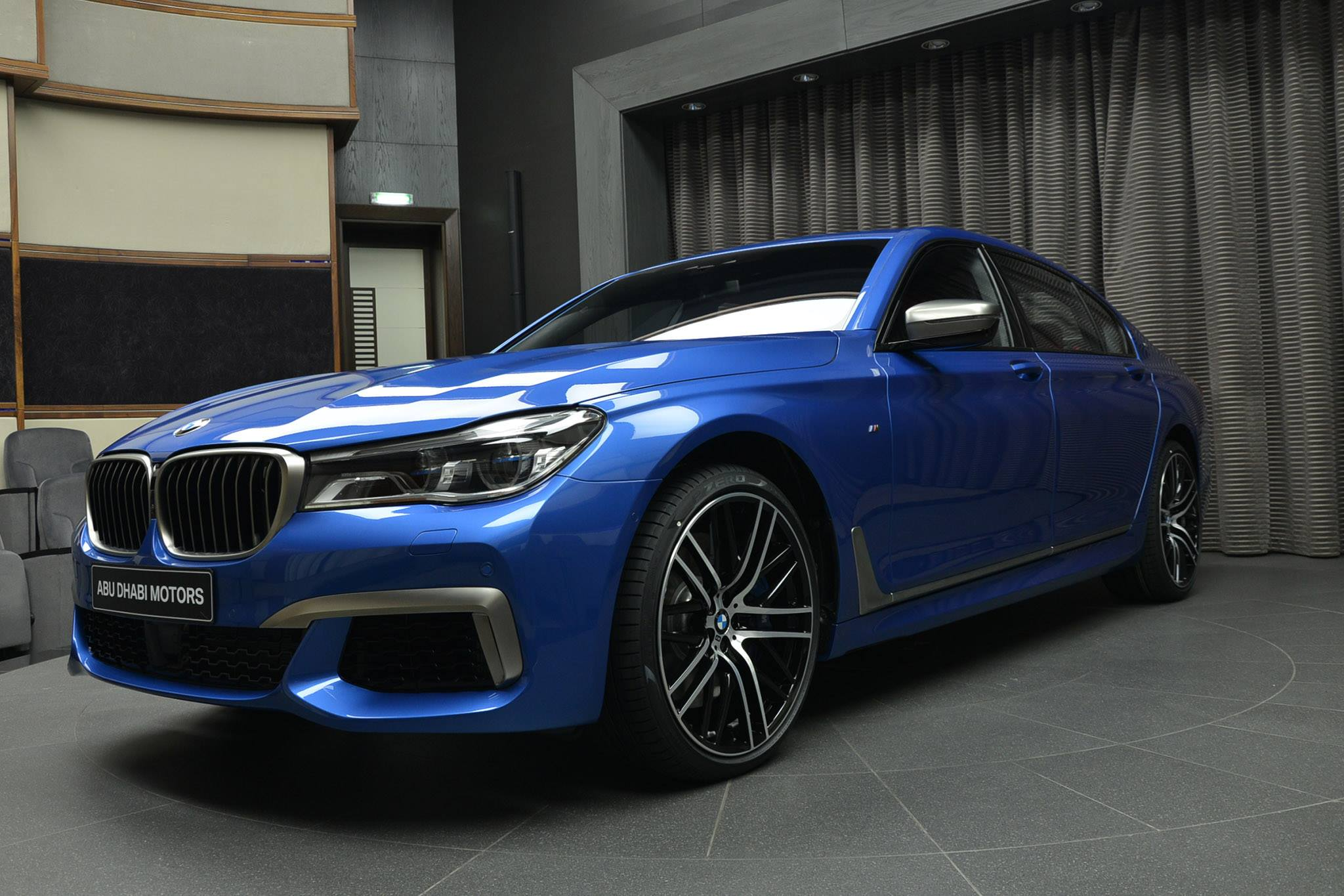 Bmw M760li Xdrive V12 With Individual Paint Estoril Blue