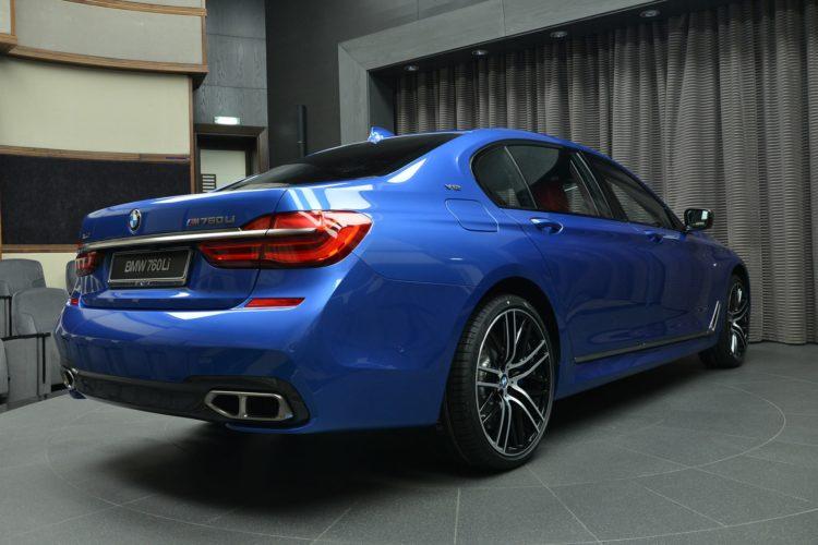 BMW M760Li V12 Estorilblau Individual 7er G11 G12 Abu Dhabi 09 750x500