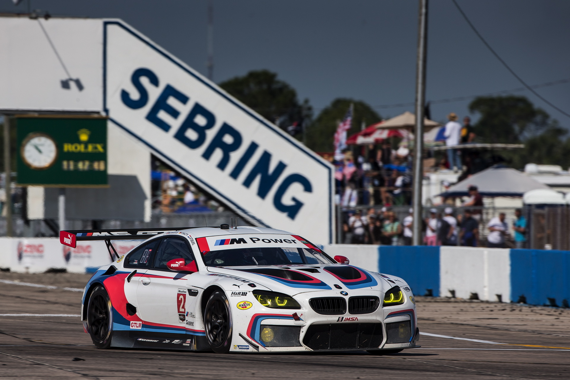 BMW Sebring 2017 race 94