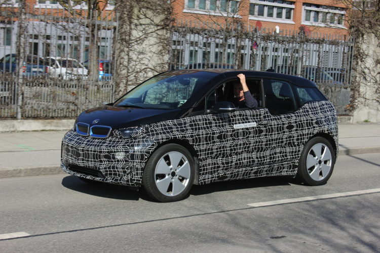 Spy Photos Refreshed 2018 Bmw I3 Electric Car