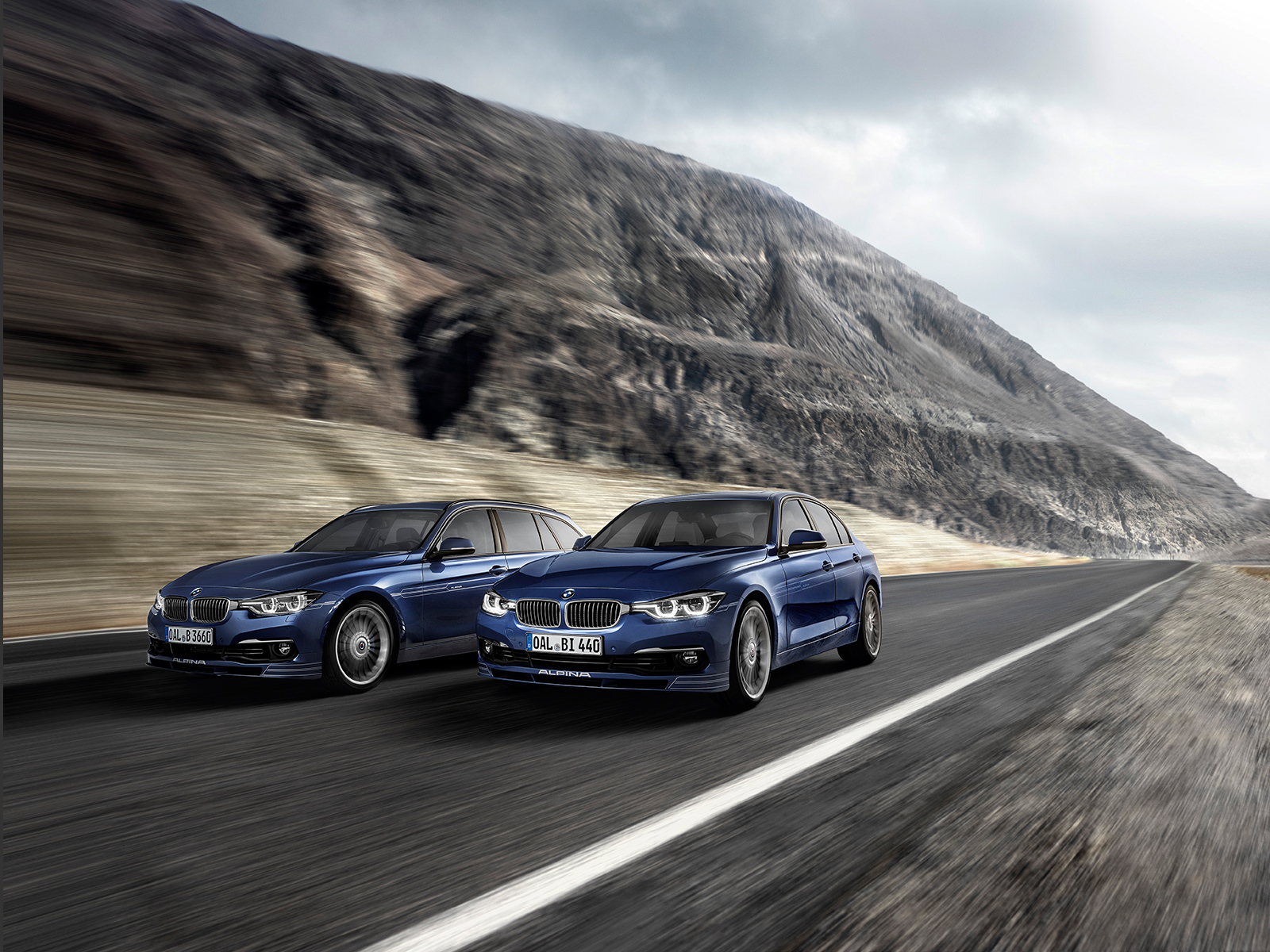 Bmw Alpina B3 S B4 S Biturbo 440 Hp For The Facelfited Models