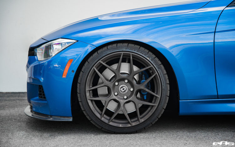 Estoril Blue BMW F30 335i Project By European Auto Source 13 750x469