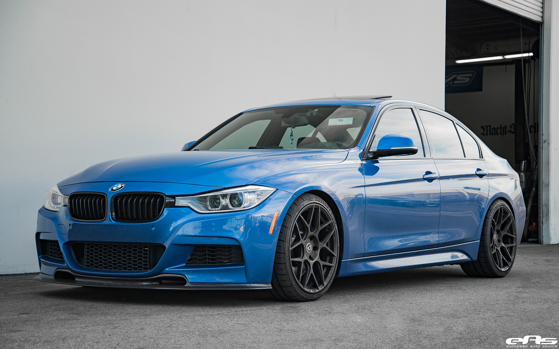 Estoril Blue Bmw F30 335i Project By European Auto Source