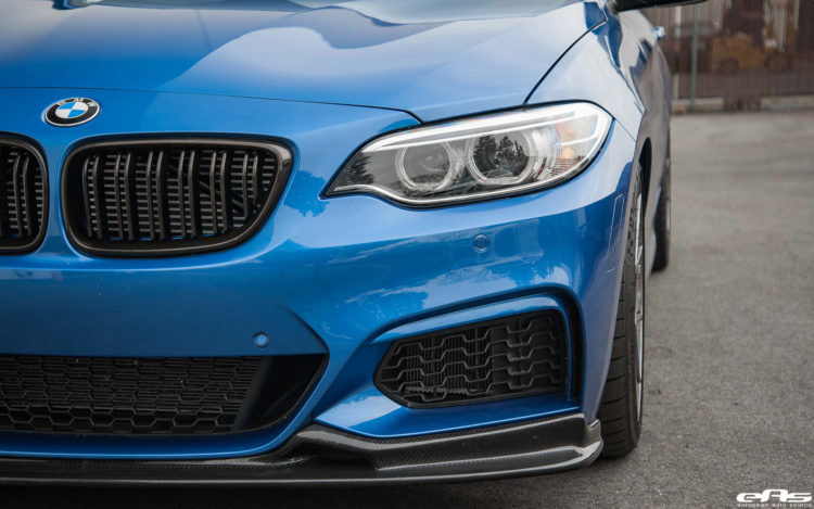Estoril Blue F22 M240i With Dinan M Performance And VMR Wheels Additions Installed 10 750x469