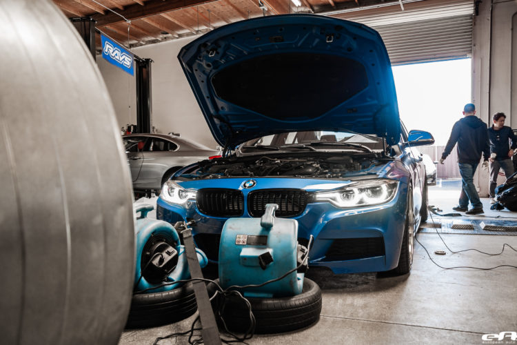 Estoril Blue Metallic F30 340i Project By European Auto Source 1 750x500