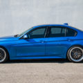 Estoril Blue Metallic F30 340i With BBS Wheels & M Performance Parts