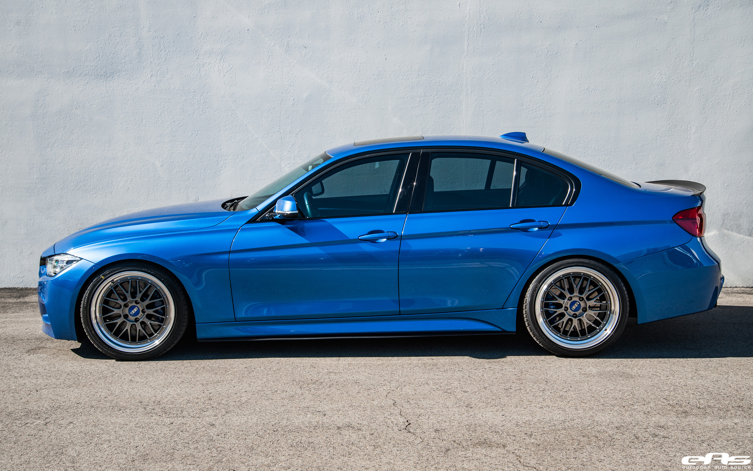 Build A Bmw >> Estoril Blue Metallic BMW 340i With BBS Wheels and M Performance Parts