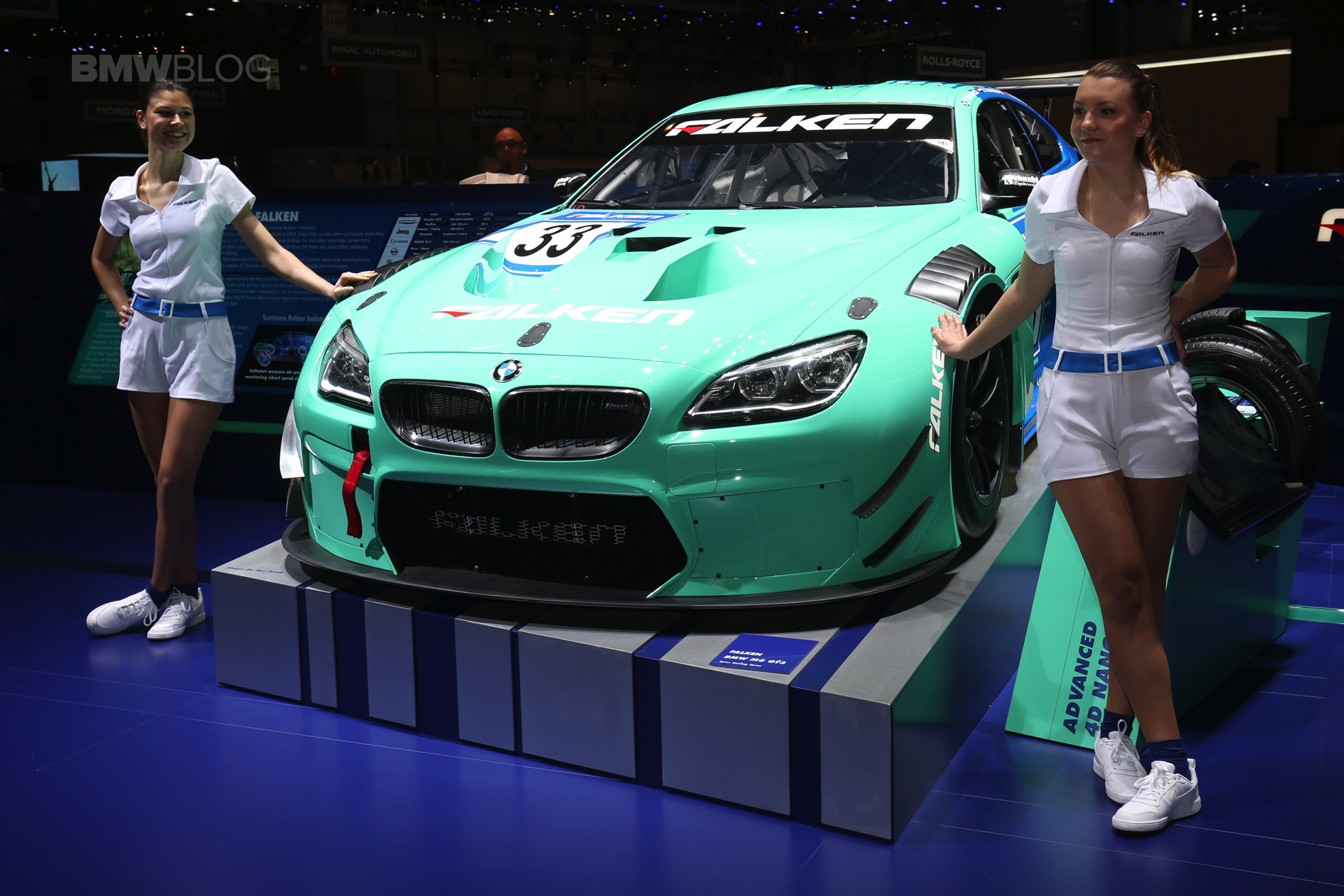 Falken New Bmw M6 Gt3 Race Car