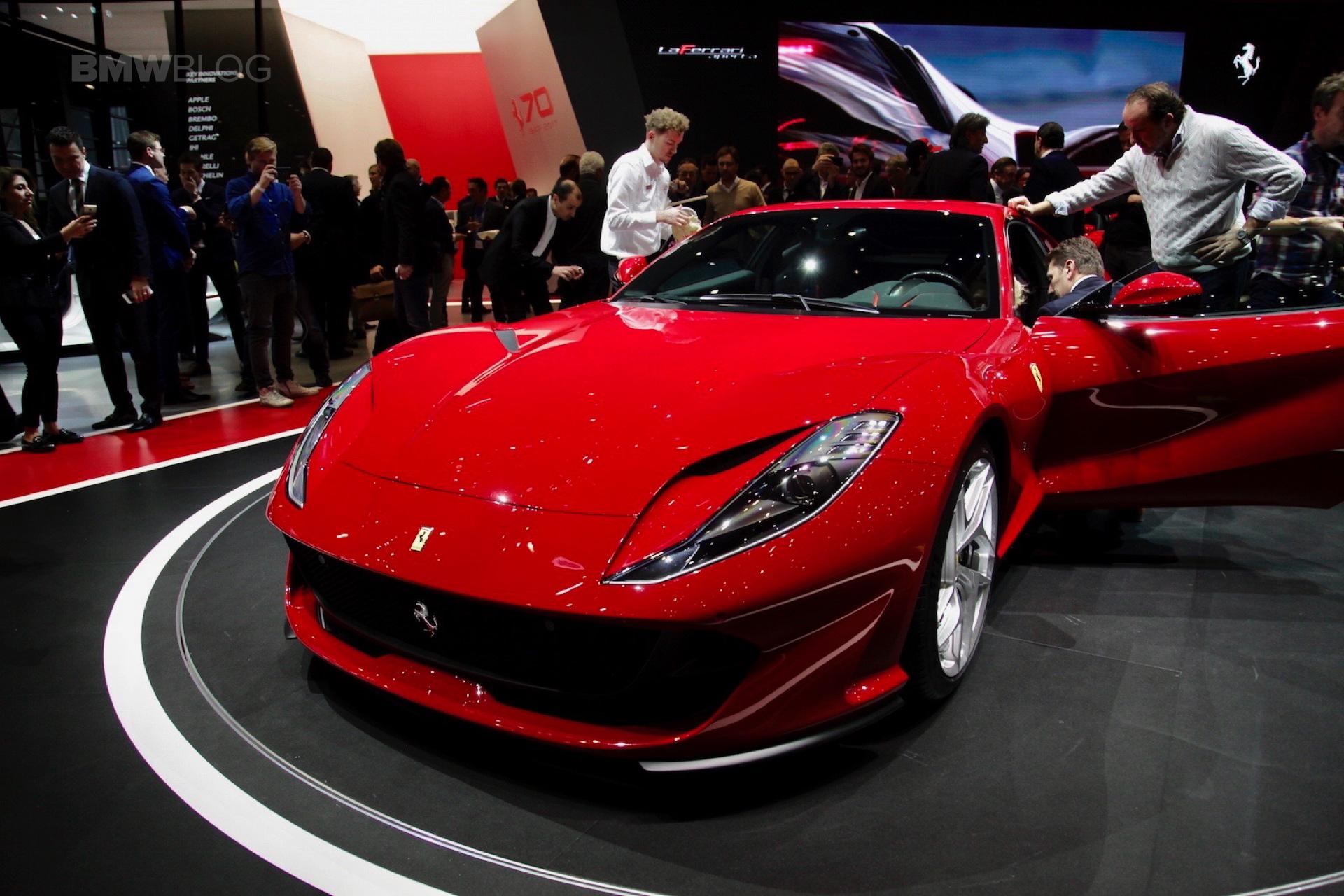 2017 Geneva Ferrari 812 Superfast
