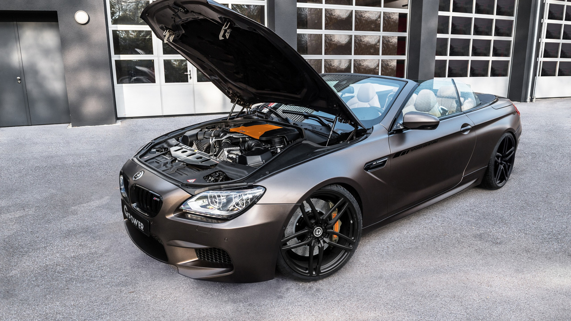 overkill g power gives 800 horsepower to bmw m6 convertible. Black Bedroom Furniture Sets. Home Design Ideas