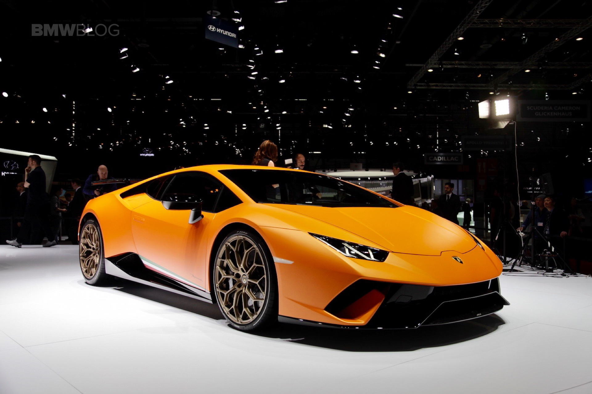 2017 Geneva Lamborghini Huracan Performante Makes A Splash