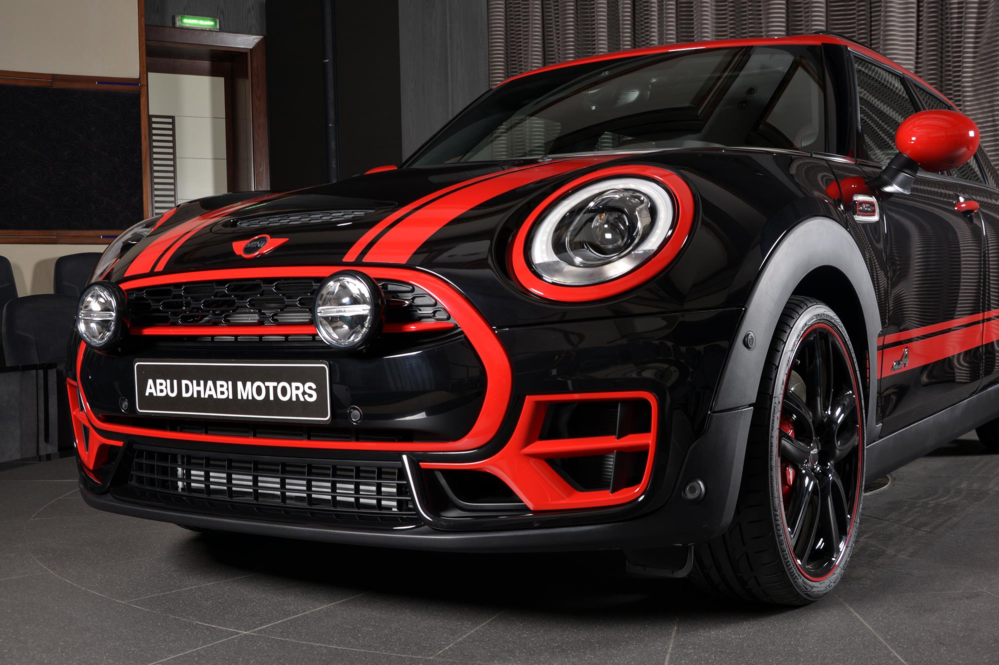 Bmw Mini Cooper >> MINI Clubman JCW in Midnight Black