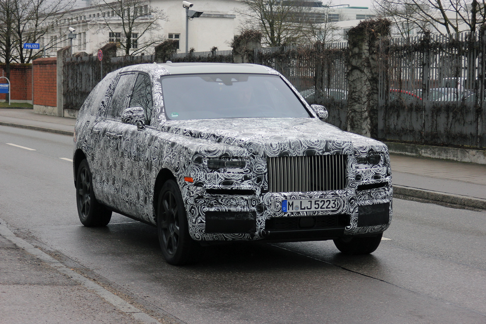 Upcoming Rolls Royce Suv Spotted In Germany