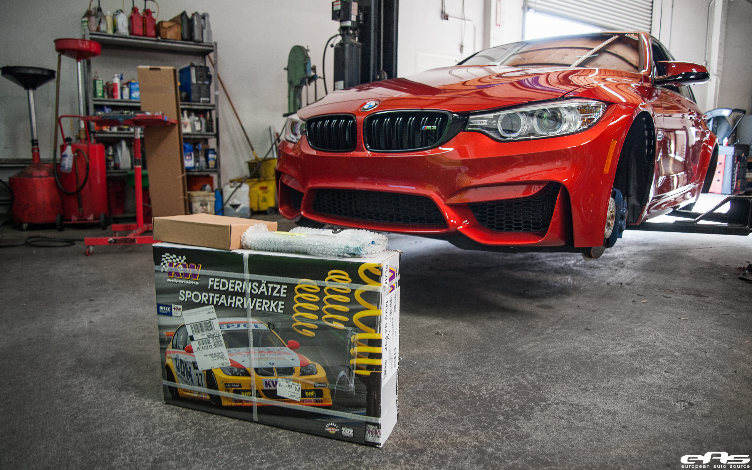 Sakhir Orange BMW M3 Project Image 1