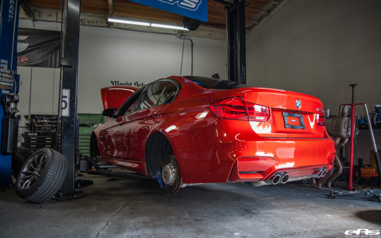 Sakhir Orange BMW M3 Project