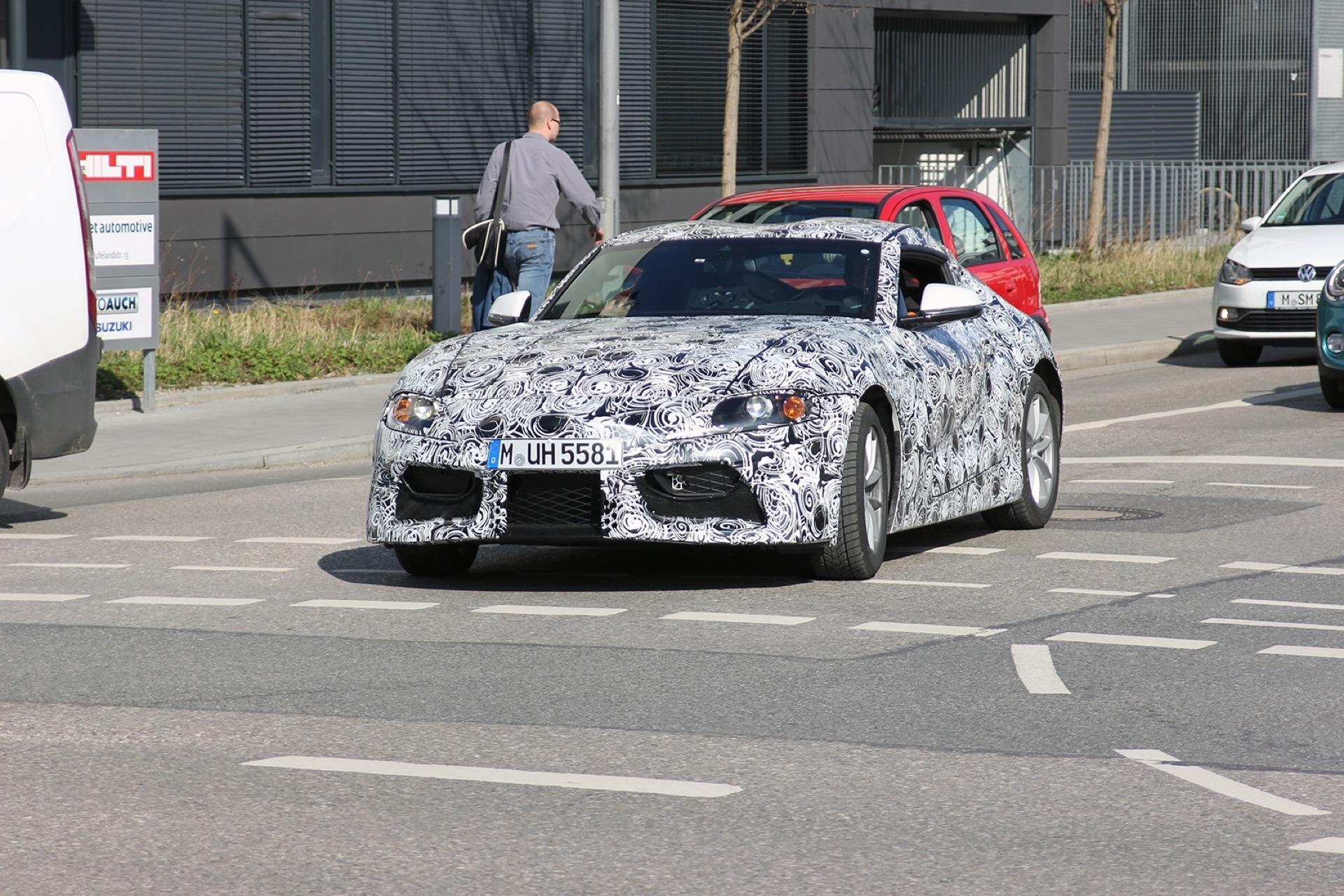 Toyota Supra Spy Photos1