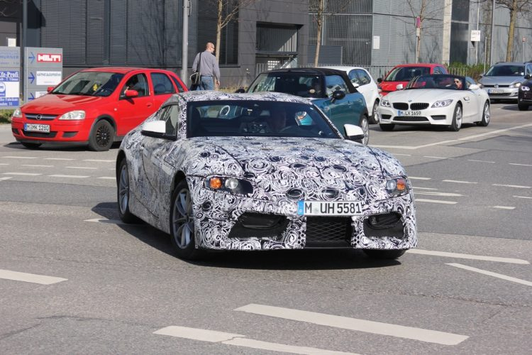 Toyota Supra expected to use automatic gearbox, share BMW tech