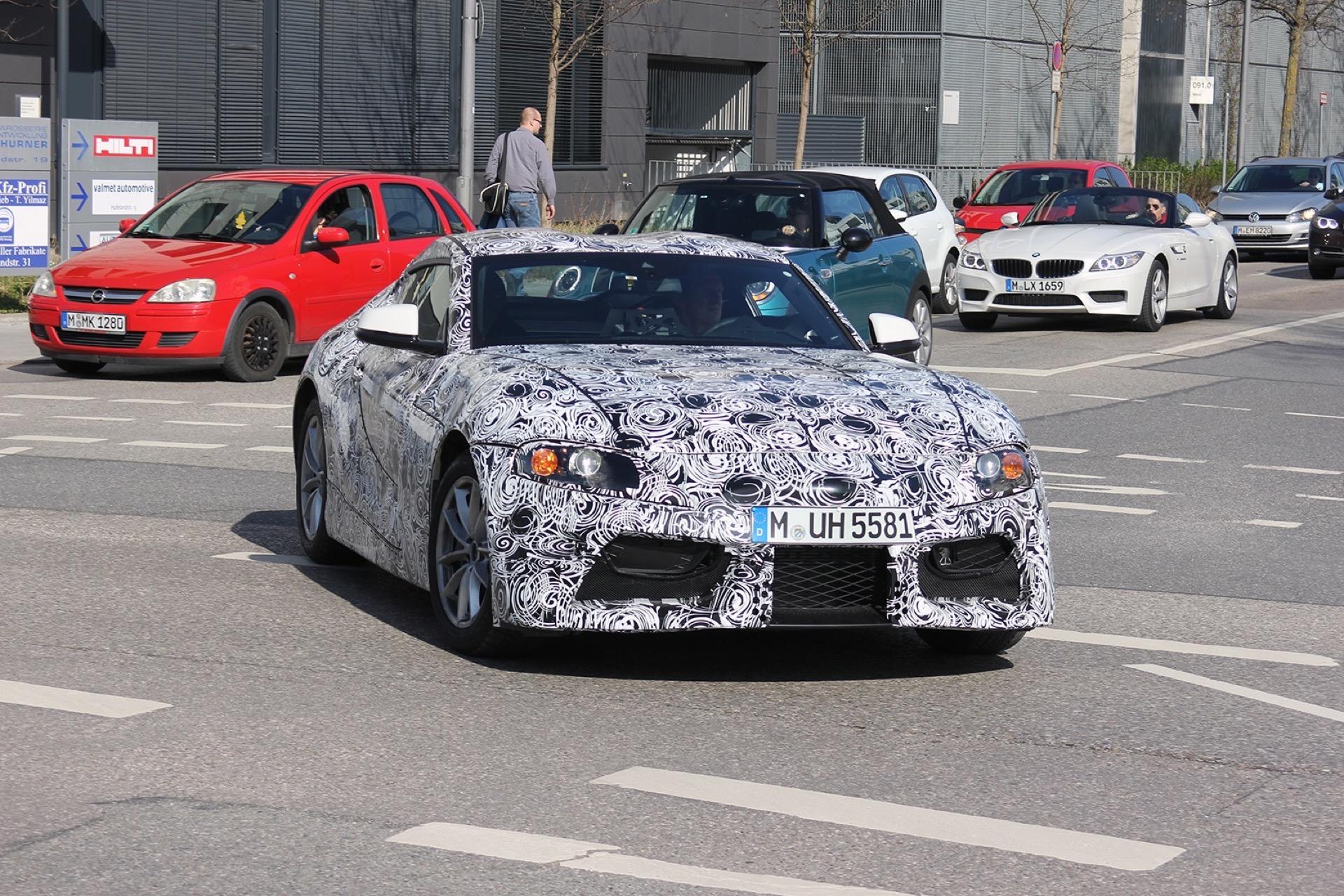 Toyota Supra Spy Photos4