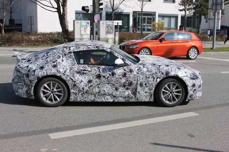 Toyota Supra Spy Photos6 750x500