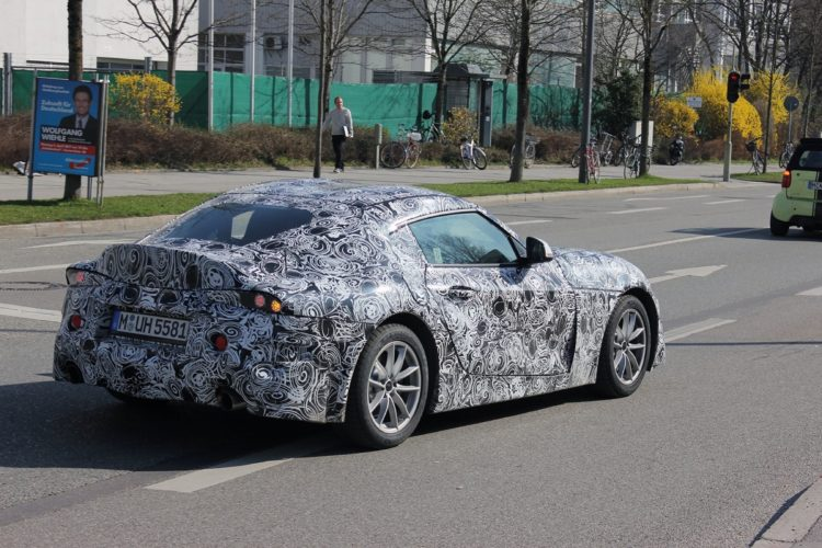 Toyota Supra Spy Photos8 750x500