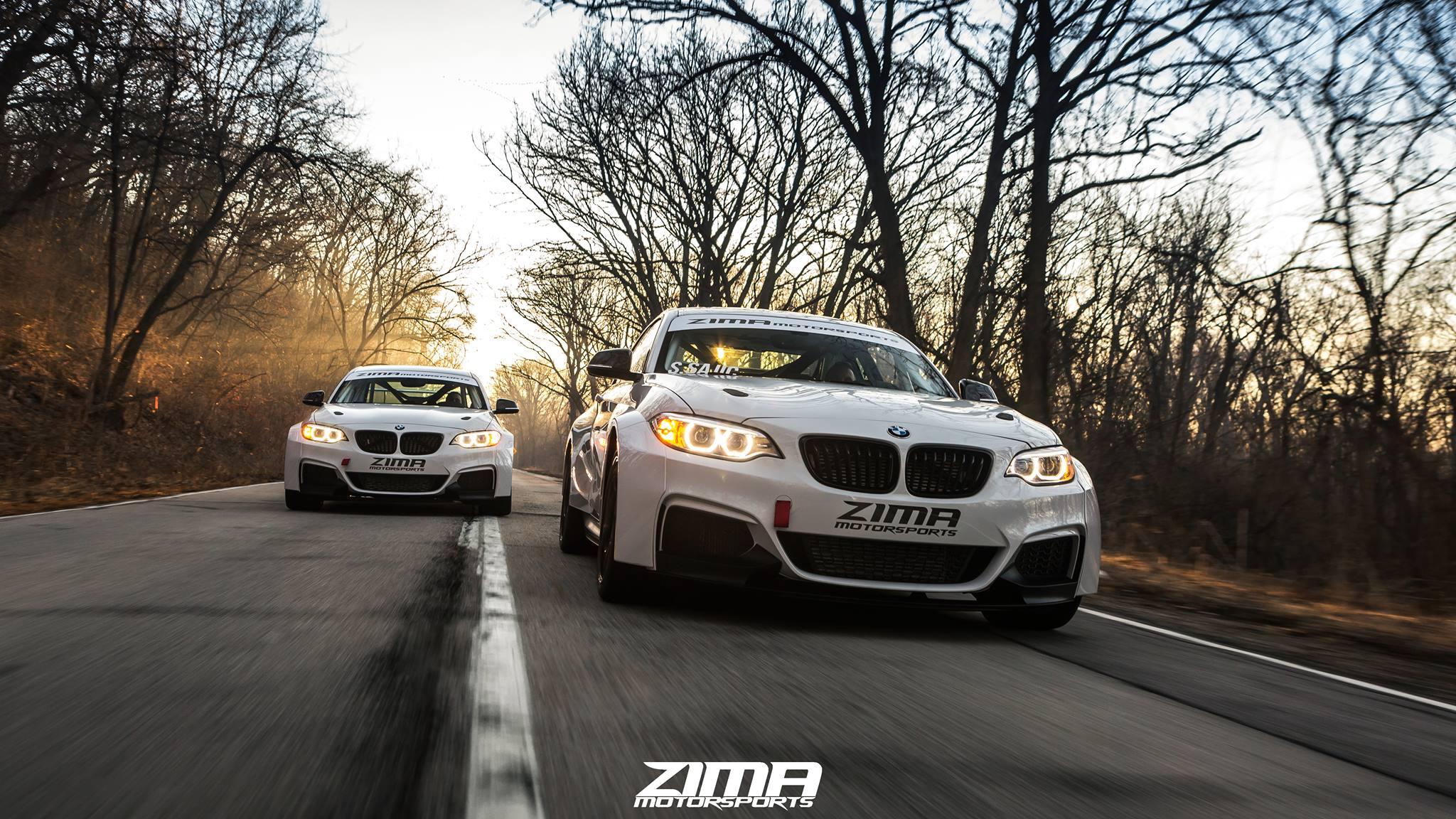 ZIMA BMW M235i racing