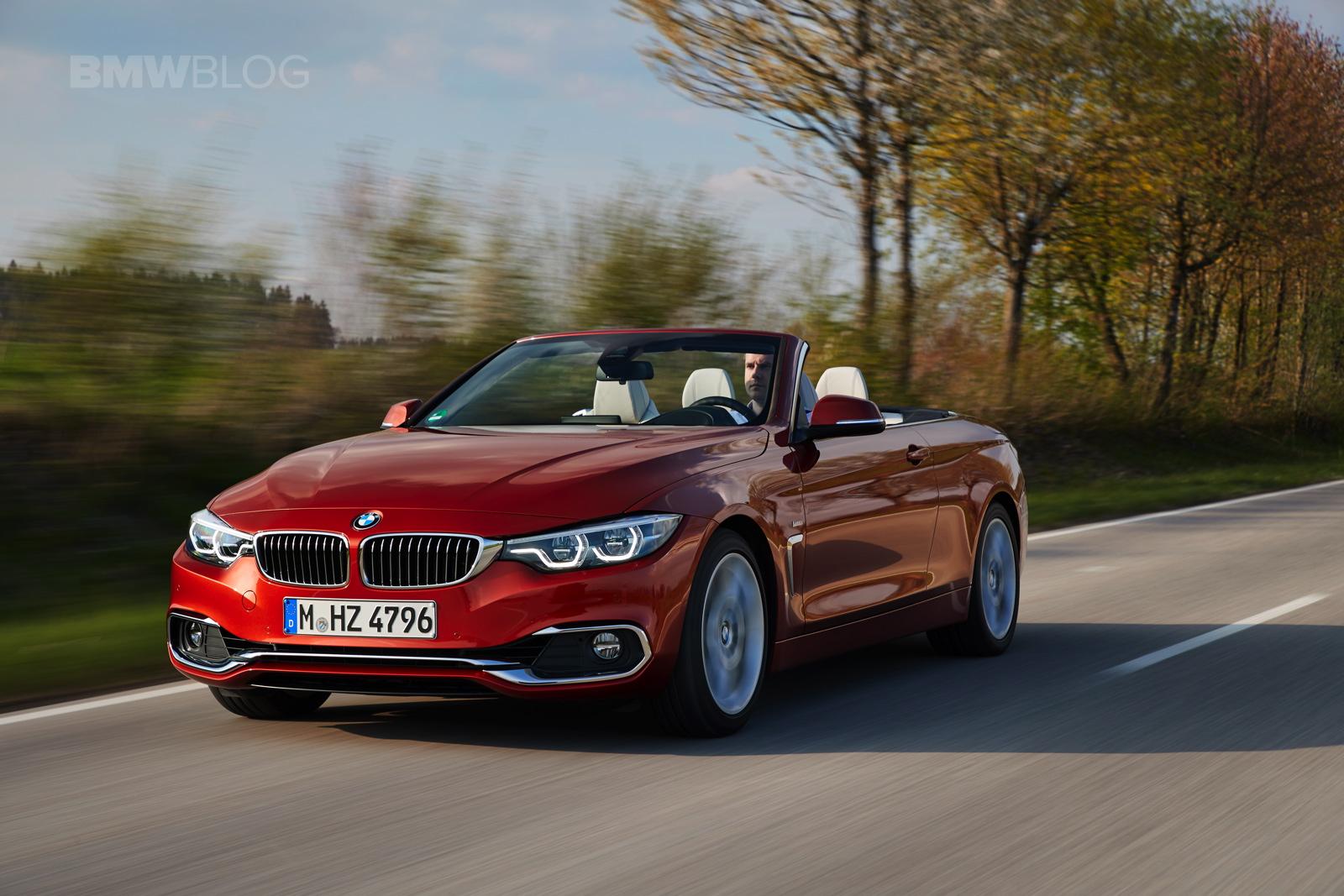 2017 BMW 4 Series Convertible test drive 07