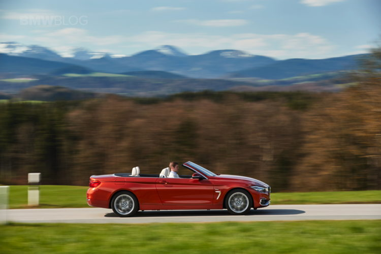 2017 BMW 4 Series Convertible test drive 16 750x500