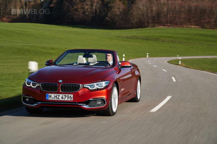 2017 BMW 4 Series Convertible test drive 17 750x500