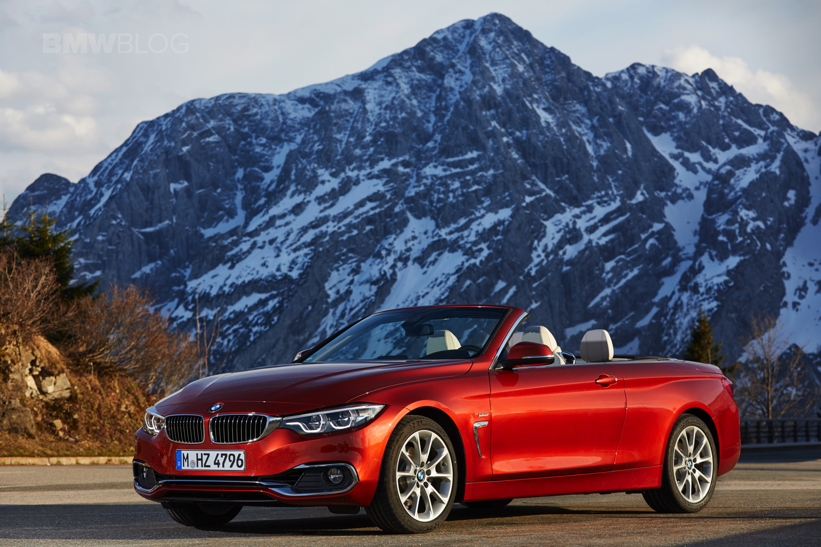 Elegant Seating Position Is Great, The View Out The Convertible Is Extremely Good.  Even With The Hardtop Folded Away, BMW Even Managed To Engineer Some Trunk  Space ...