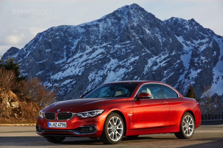 2017 BMW 4 Series Convertible test drive 24 750x500