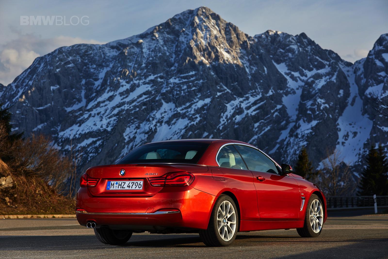 2017 BMW 4 Series Convertible test drive 25