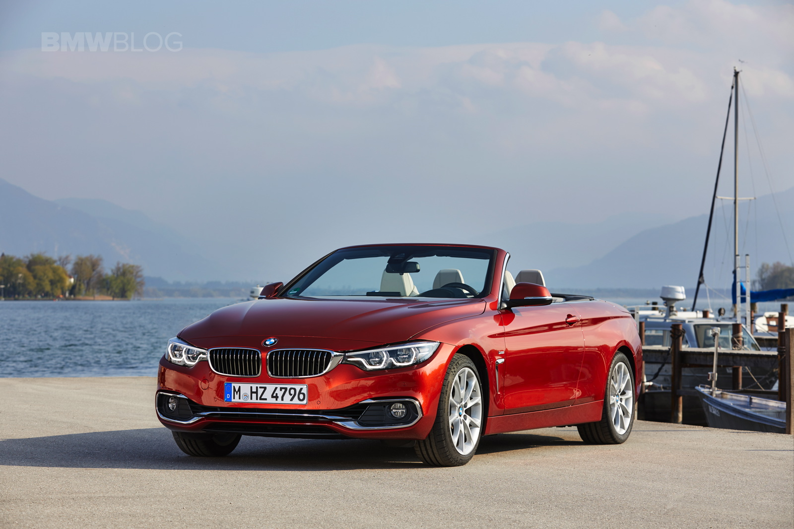2017 BMW 4 Series Convertible test drive 27
