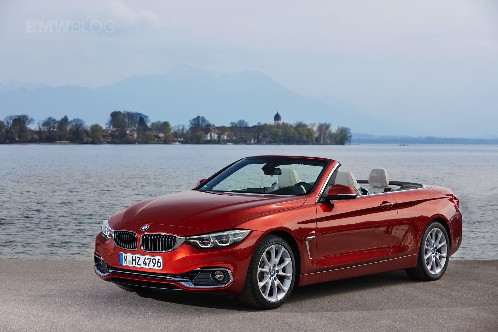 2017 BMW 4 Series Convertible test drive 30