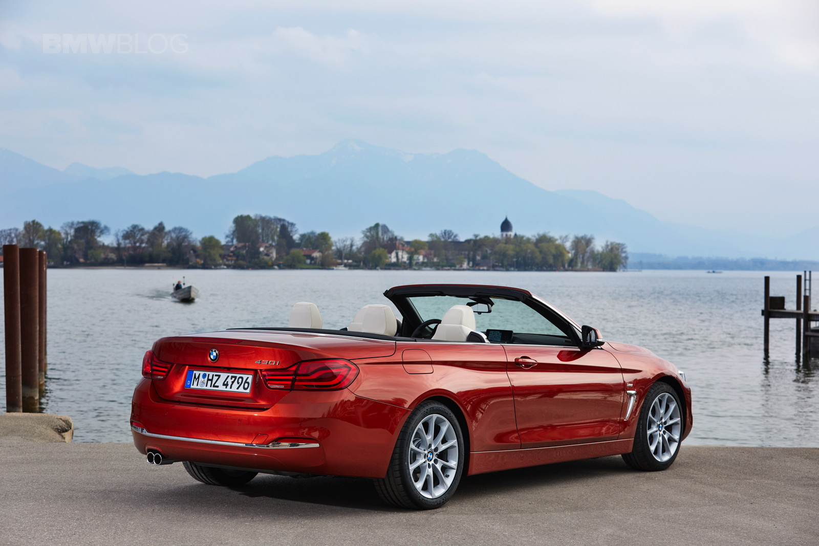 SPIED: BMW 4 Series Convertible caught with soft-top roof