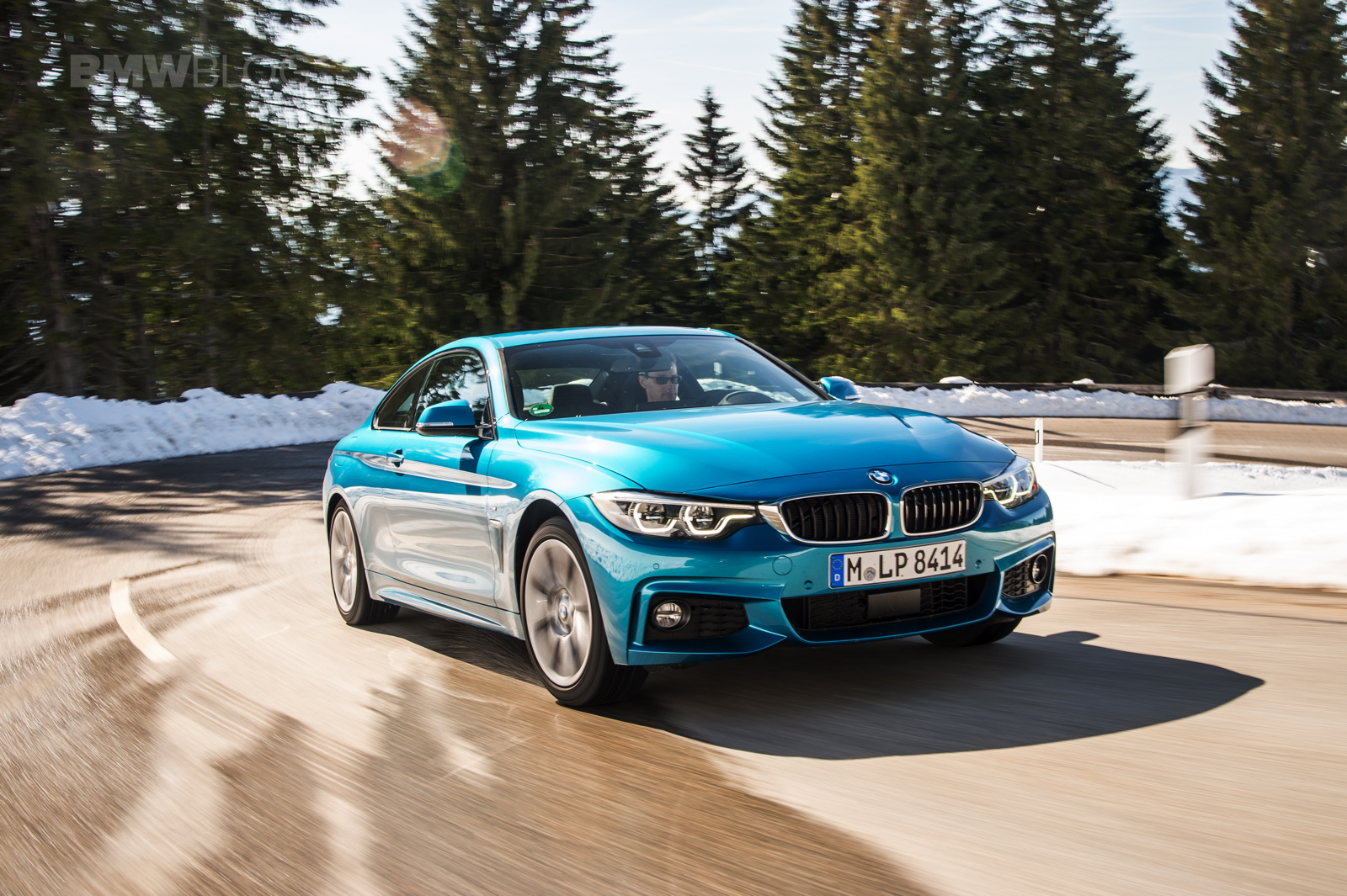 2017 BMW 4 Series Coupe test drive 10