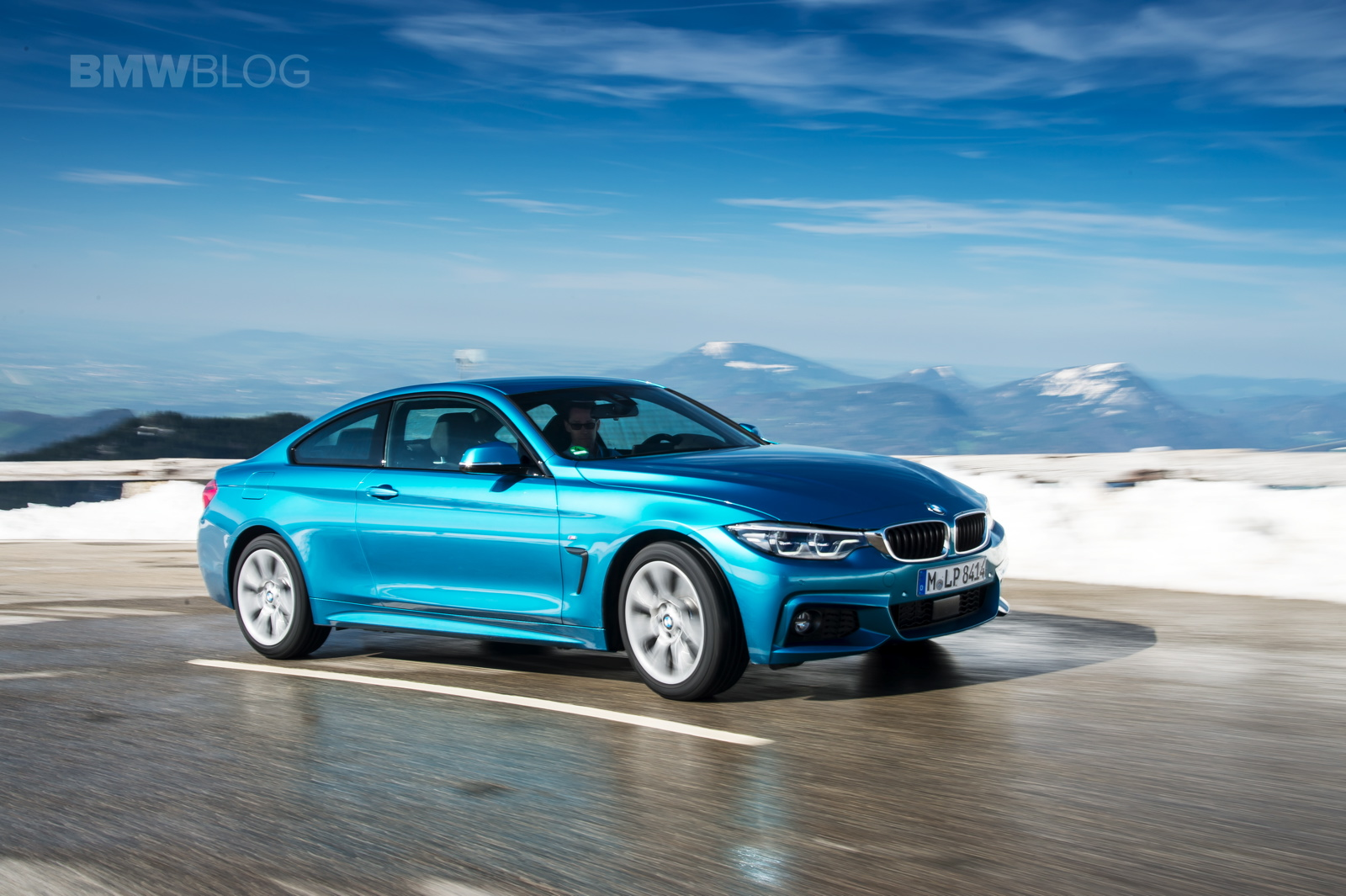 2017 BMW 4 Series Coupe test drive 18