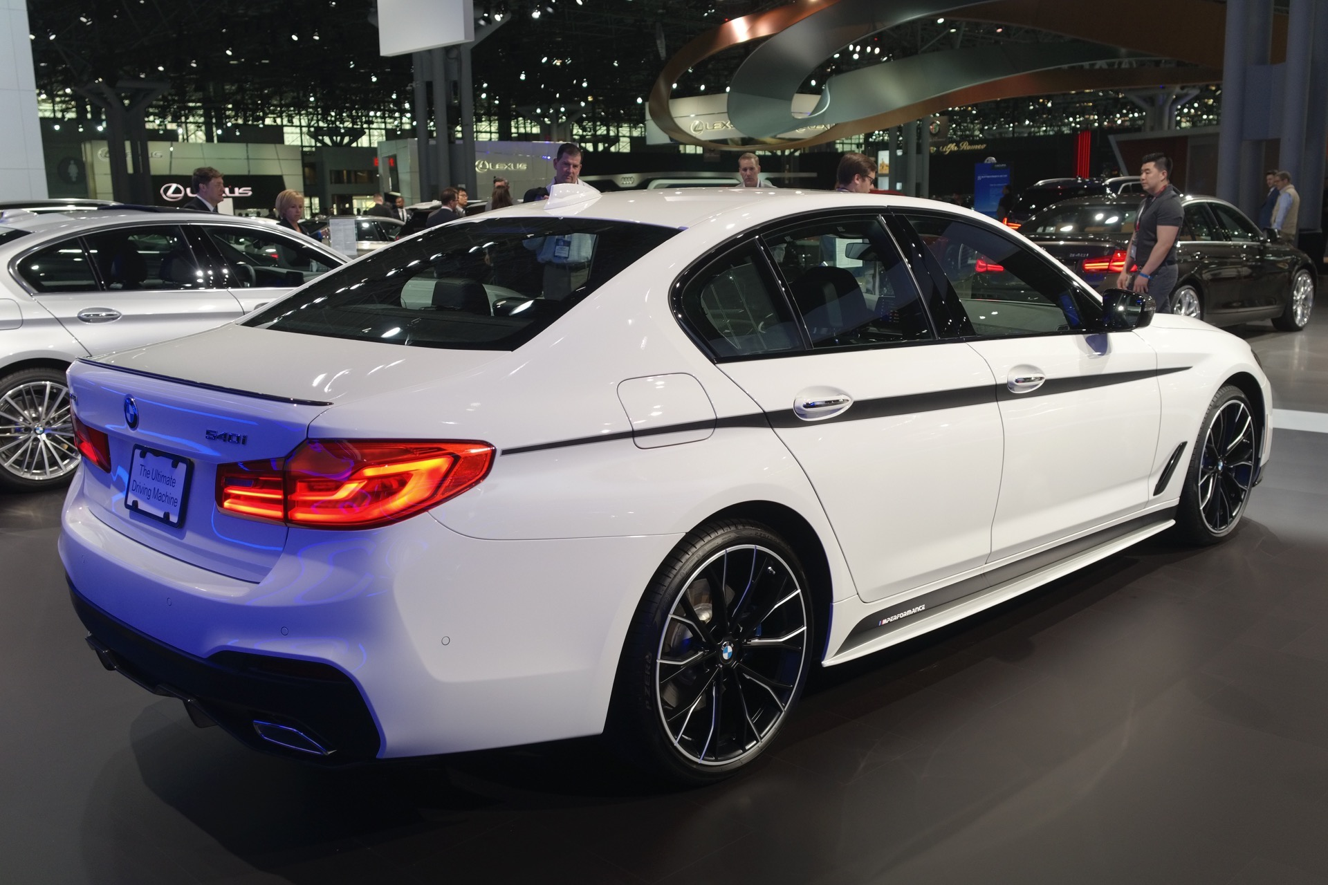 2017 New York Auto Show Bmw 540i Wearing M Performance Parts