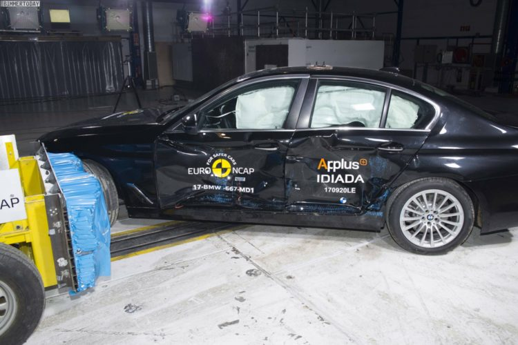 2017 BMW 5er G30 Crashtest Euro NCAP 06 750x500