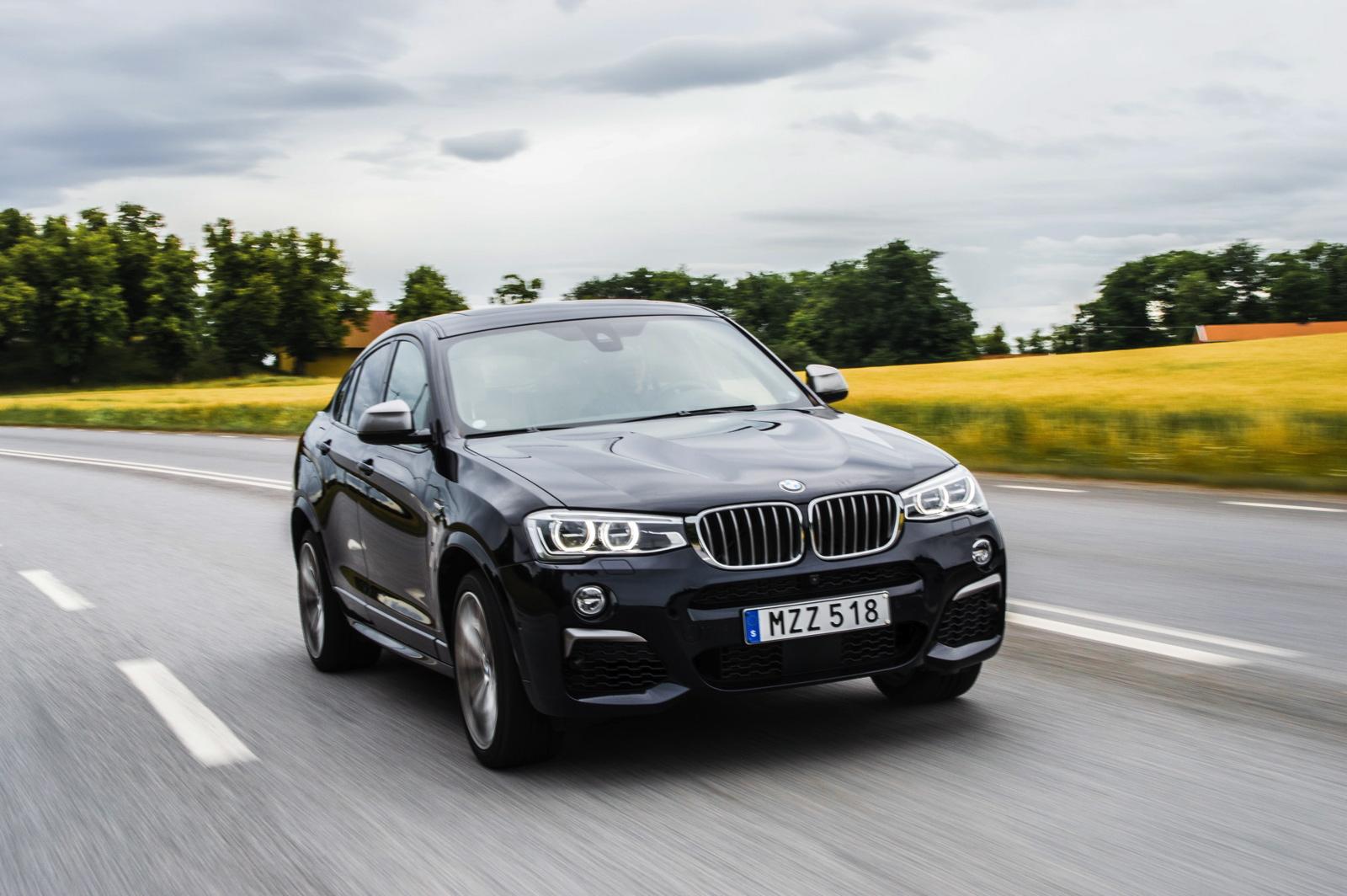 2017 BMW X4 M40i test 01
