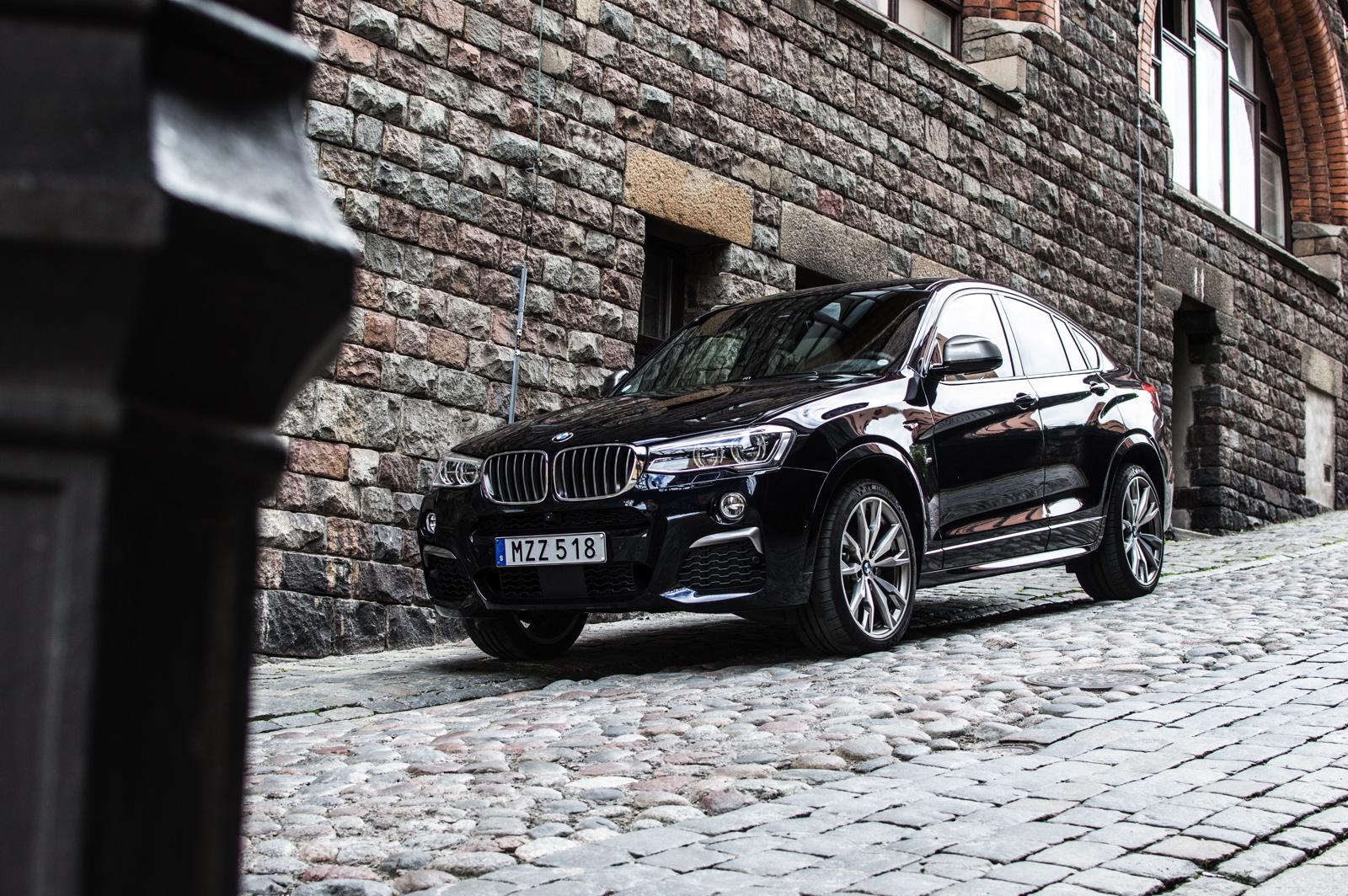 2017 BMW X4 M40i Test 07