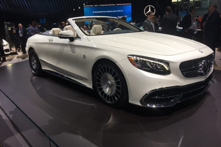2017 NYIAS: Mercedes-Maybach S650 Cabrio hits New York