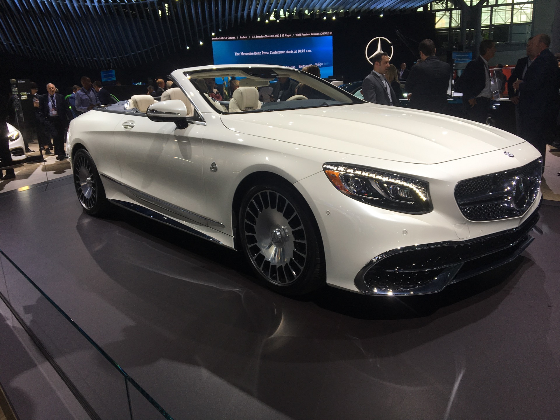 2017 Nyias Mercedes Maybach S650 Cabrio Hits New York