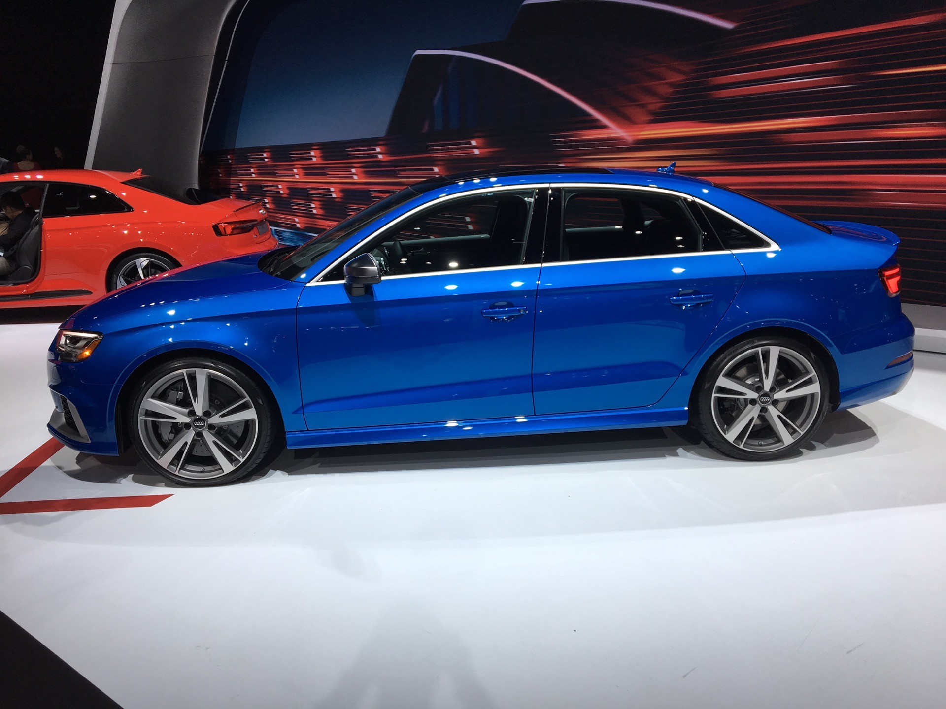 Sedan Vs Coupe >> 2017 NYIAS: Audi RS3 Sedan to take on BMW M2
